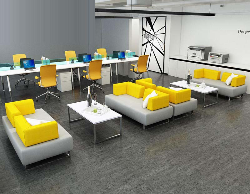 Bright office furniture