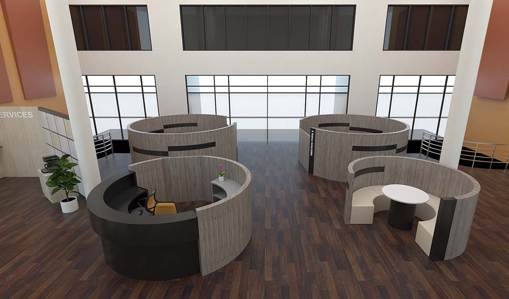 Customized Meeting Pods