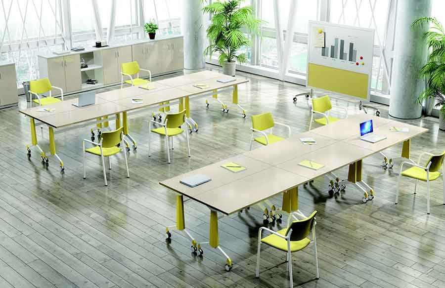 Modern foldable tables