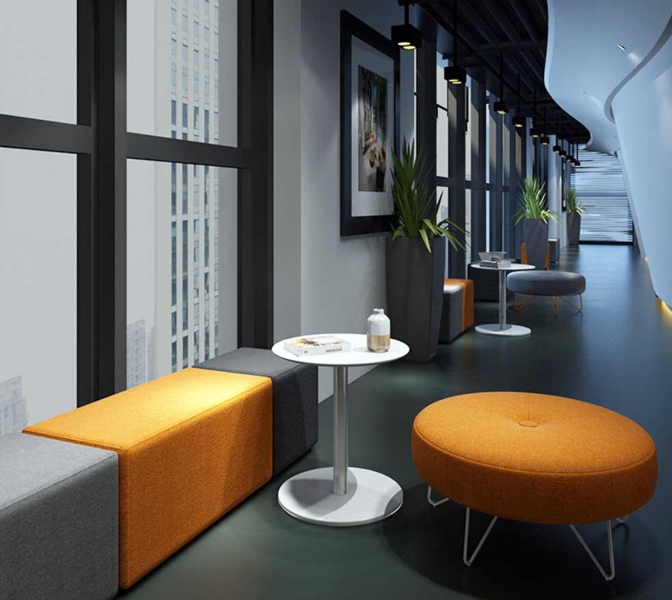 Modular soft seatings